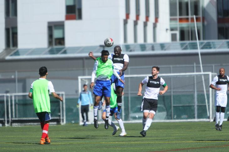 Kouame Ouattara during last week's open trials in Halifax.