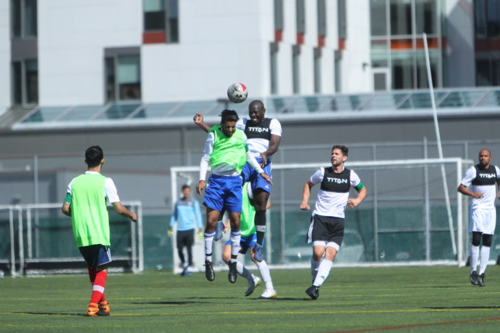 Kouame Ouattara during last week's open trials in Halifax.